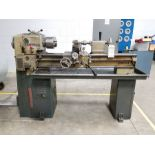 CLAUSING GAP BED ENGINE LATHE,50'' BED, 6'' CENTER OVER BED,6'' 3 JAW CHUCK,TAILSTOCK,CROSS
