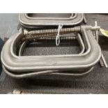 (3) ARTIC INDIA DROPPED FORGED NO. 408 C-CLAMPS