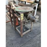 24'' ROTARY TORCH TABLE, 1/2 HP, 1PH
