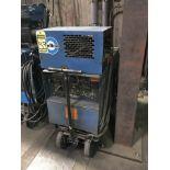 MILLER CC AC/DC ARC WELDER, MODEL DIALARC HF, S/N JF879507, OUTPUT: 125-250A, 10-310 AC/DC GTAW