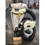 JET PORTABLE DUST COLLECTOR, MODEL DC-110, S/N 2071031, 70 GALLON CAPACITY, 1-1/2 HP BLOWER, 115V,