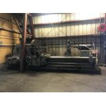 MONARCH ENGINE LATHE, MODEL 32''NN, S/N 40993, 48'' SWING, 108'' BETWEEN CENTERS, 12-606 SPINDLE