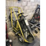 ENERPAC 50-TON PORTABLE HYDRAULIC PULLER, 1 HP POWER UNIT