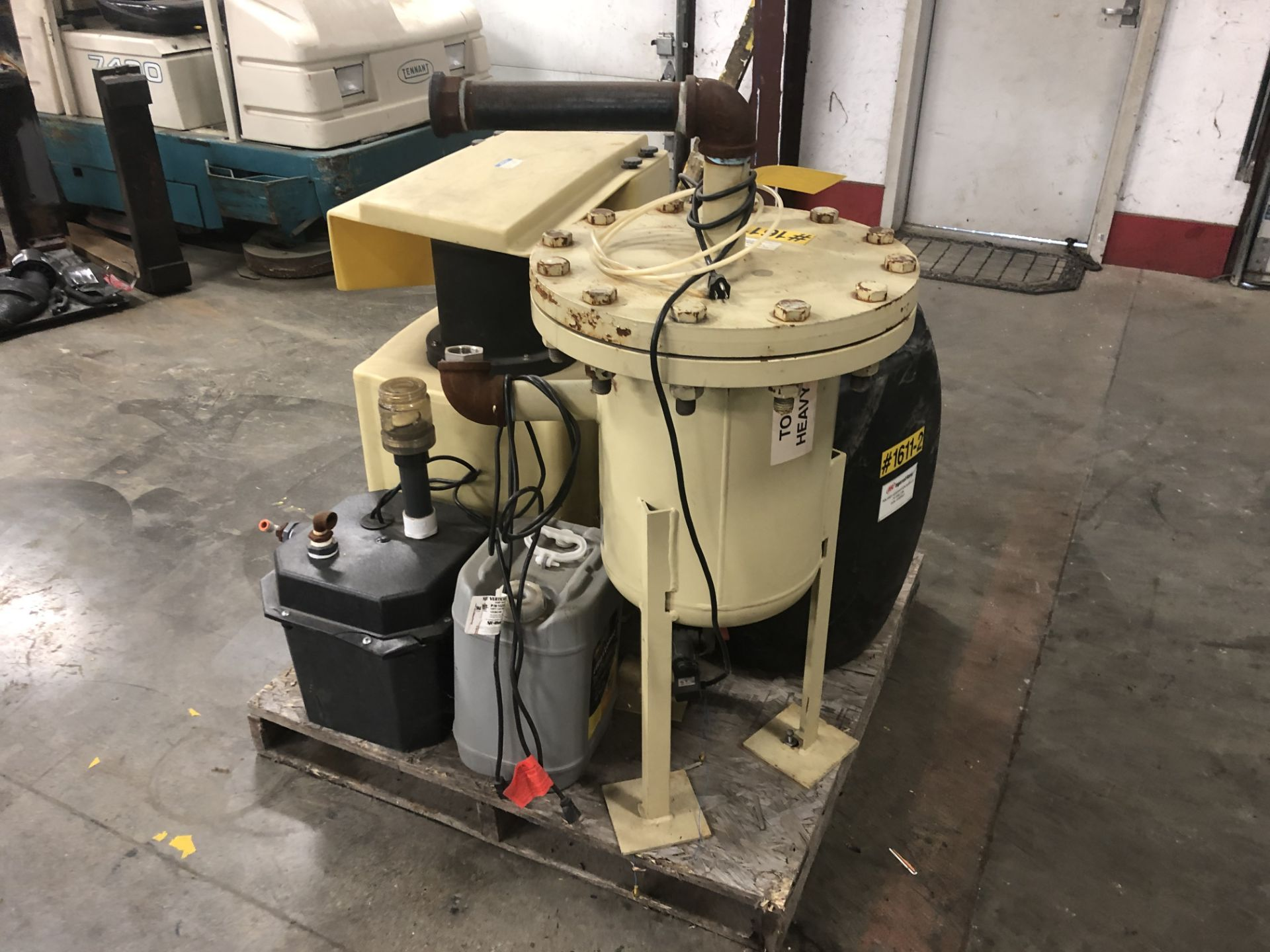 Lot 30 - 2010 Ingersoll Rand Air Compressor, Model: UP6-50 PEI-125, Max W/ Filtration System, *FREE LOADING