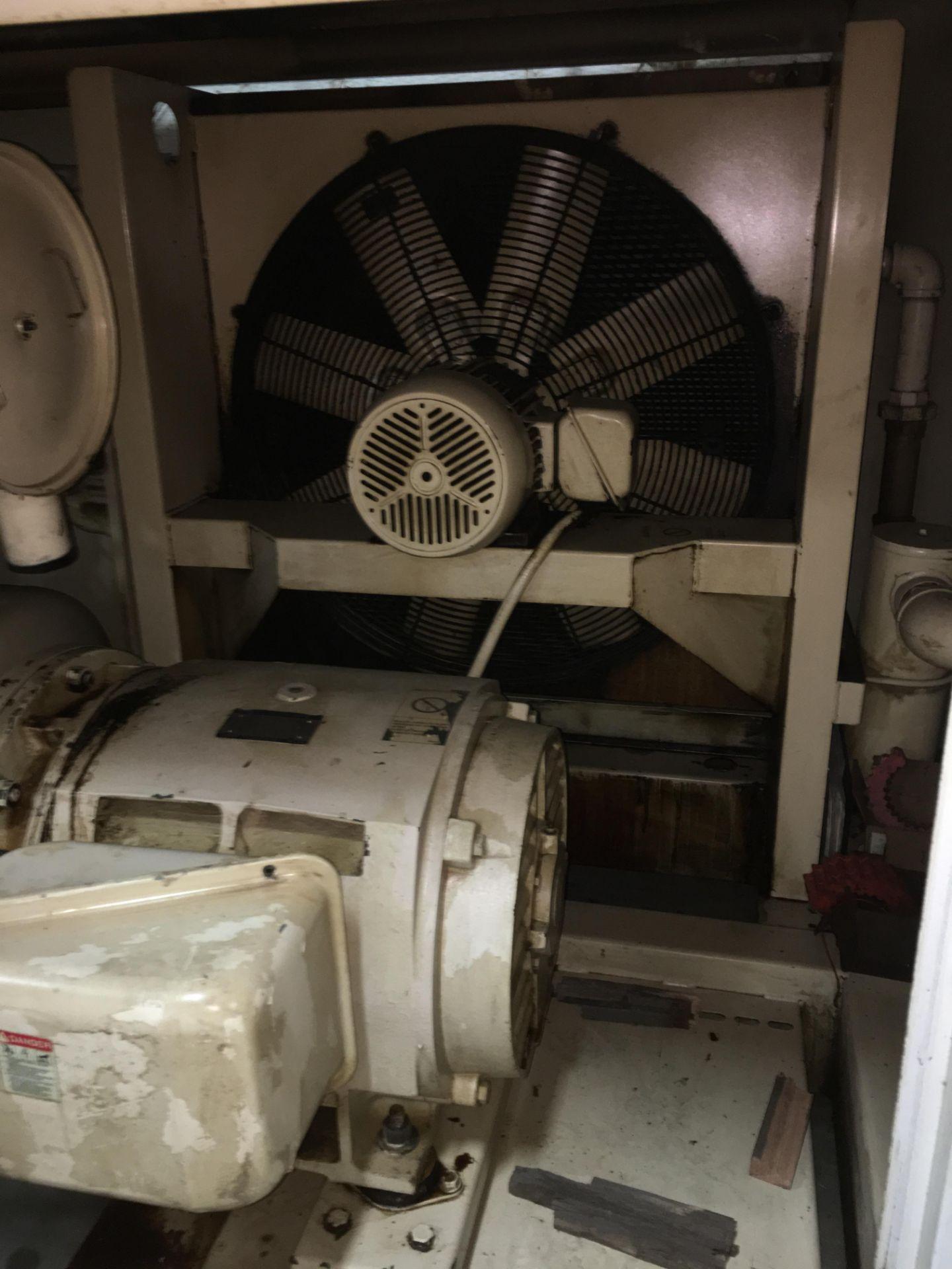 Lot 29 - GARDNER DENVER ELECTRA SAVER 125-HP AIR COMPRESSOR; YEAR 2008, 200-PSI, S/N: S040390, *FREE LOADING