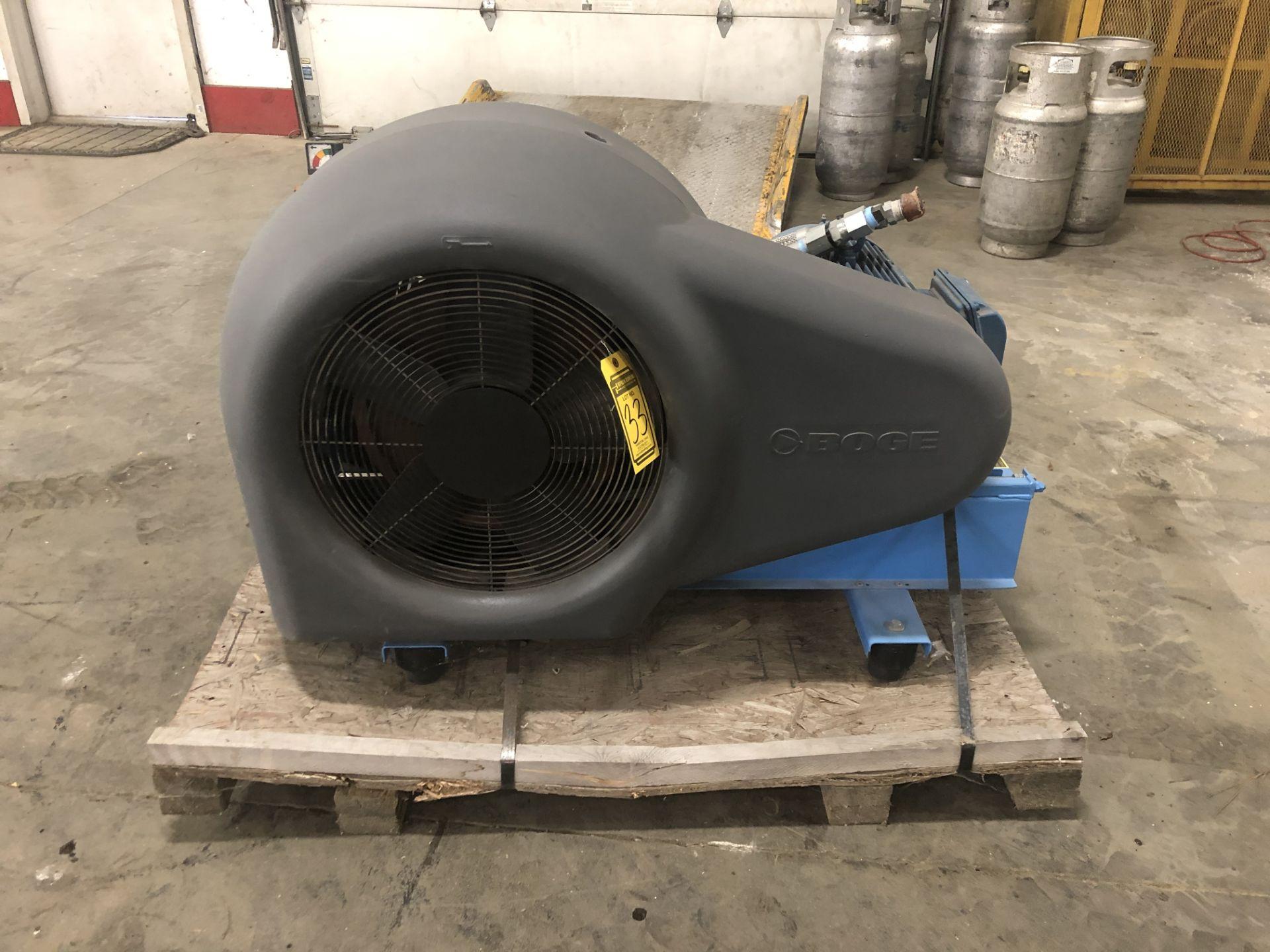 Lot 33 - 2013 BOGE Air Compressor, Model: SRHV 420 –10, Motor power: 15 KW, CFM: 162, pressure PSIG: 600