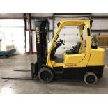 2012 HYSTER 8,000-LB., MODEL: S80FT, S/N: G004V06533K, LPG, LEVER SHIFT TRANSMISSION, SOLID TIRES,