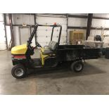 Cushman Haulster personnel carrier, W/ 6' Bed, Gasoline, Automatic 3-speed transmission, 4,093 Hrs
