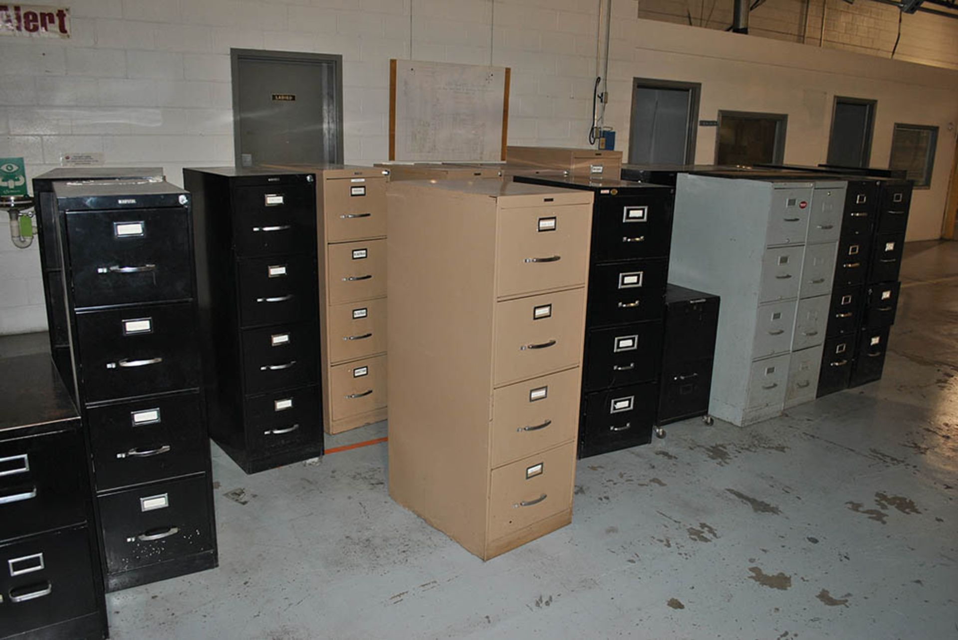Lot 117 - (35) 4-DRAWER FILE CABINETS