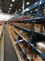 Lot 13 - Order Fulfillment Shelving Racks, Slotted Shelving Construction, (2) Rows | Rig: See Lot Description