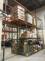 Lot 30 - Interlake Teardrop Pallet Rack, (8) Uprights (3in x 1.625in Columns, 42in | Rig: See Lot Description