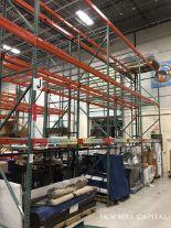 Lot 27 - Interlake Teardrop Pallet Rack, (10) Uprights (3in x 1.625in Columns, 42i | Rig: See Lot Description