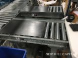 Lot 73 - (2) Roller Conveyors, Manual, Approx 3ft OA Length, 15in Rollers, 18in OA Width | Rig Fee: $150