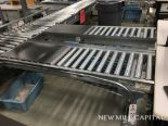 Lot 70 - (2) Roller Conveyors, Manual, Approx 5ft OA Length, 15in Rollers, 18in OA Width | Rig Fee: $150