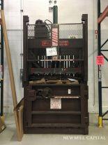 Lot 7 - Philadelpia Tramrail Co Heavy Duty Baler, 230V 3ph, 28 Amp | Rig Fee: $600