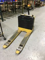 Lot 9 - Hyster Model W40Z Electric Pallet Jack, 24V Battery, 4000 LB Capacity, 484 Hours | Rig Fee: $100