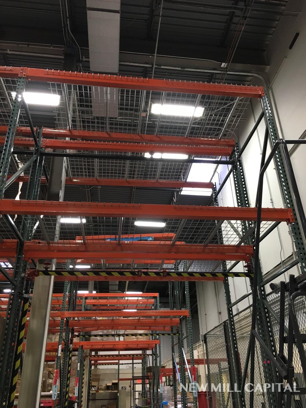 Lot 28 - Interlake Teardrop Pallet Rack, (10) Uprights (3in x 1.625in Columns, 42i | Rig: See Lot Description