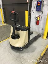 Lot 8 - Crown Model WP2035-45 Electric Pallet Jack, 24V Battery, 2040 Lbs Max Capacity, | Rig Fee: $100
