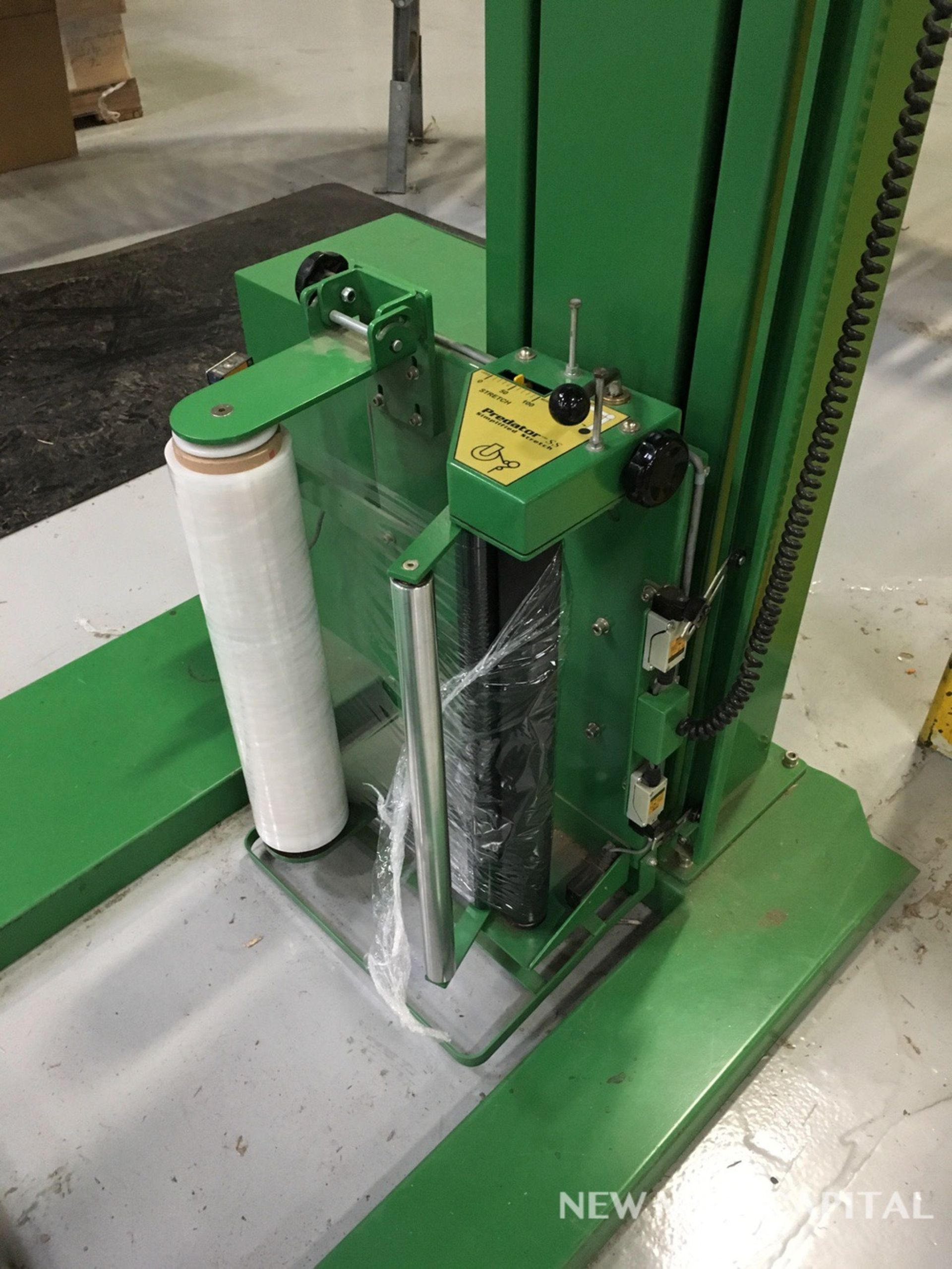 Lot 5 - Highlight Industries Predator SS Simplified Stretch Pallet Wrapper | Rig Fee: $550