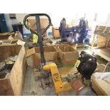 (1) Uline H-1366 Hydraulic Pallet Jack, 5500#   Rig Fee: $25 or HC