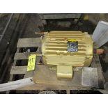 (1) Baldor 20HP Motor   Rig Fee: $25