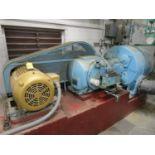 Ingersoll Rand 22 x 7-ESH-VP 50HP Vacuum Pump, Baldor 50HP Motor, 1,775 RPM, 230/46   Rig Fee: $1500