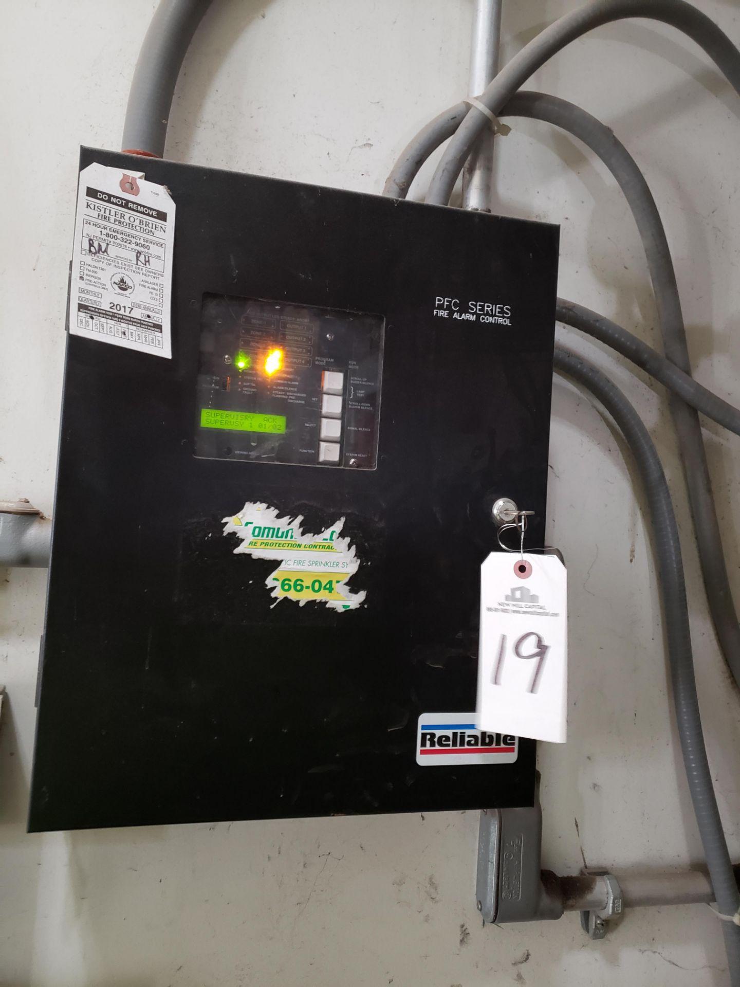 Lot 19 - PFC Series Fire Alarm Controls | Rig Fee: $50