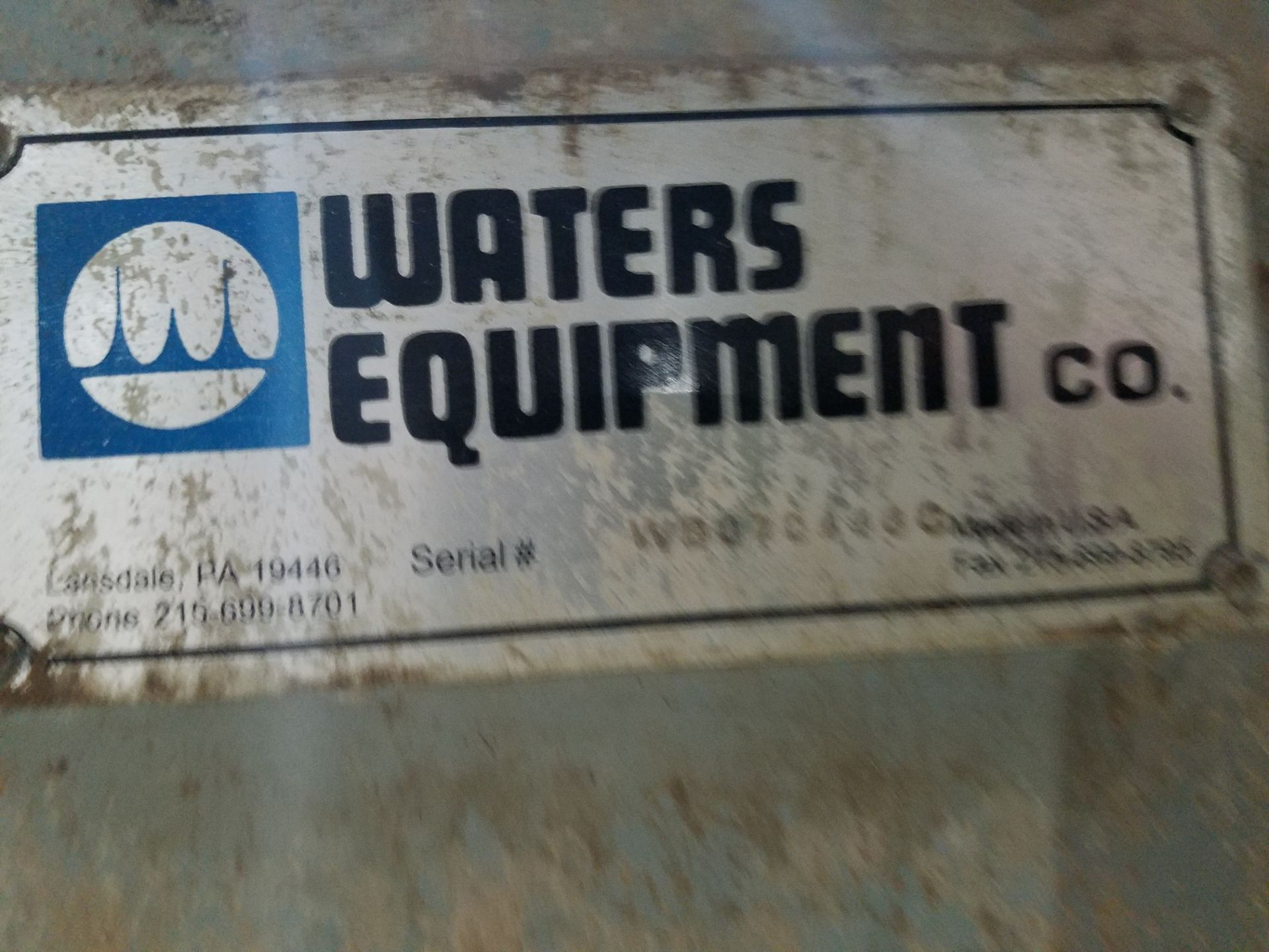 Lot 46 - Waters Equipment Co., Sample Station | Rig Fee: $500
