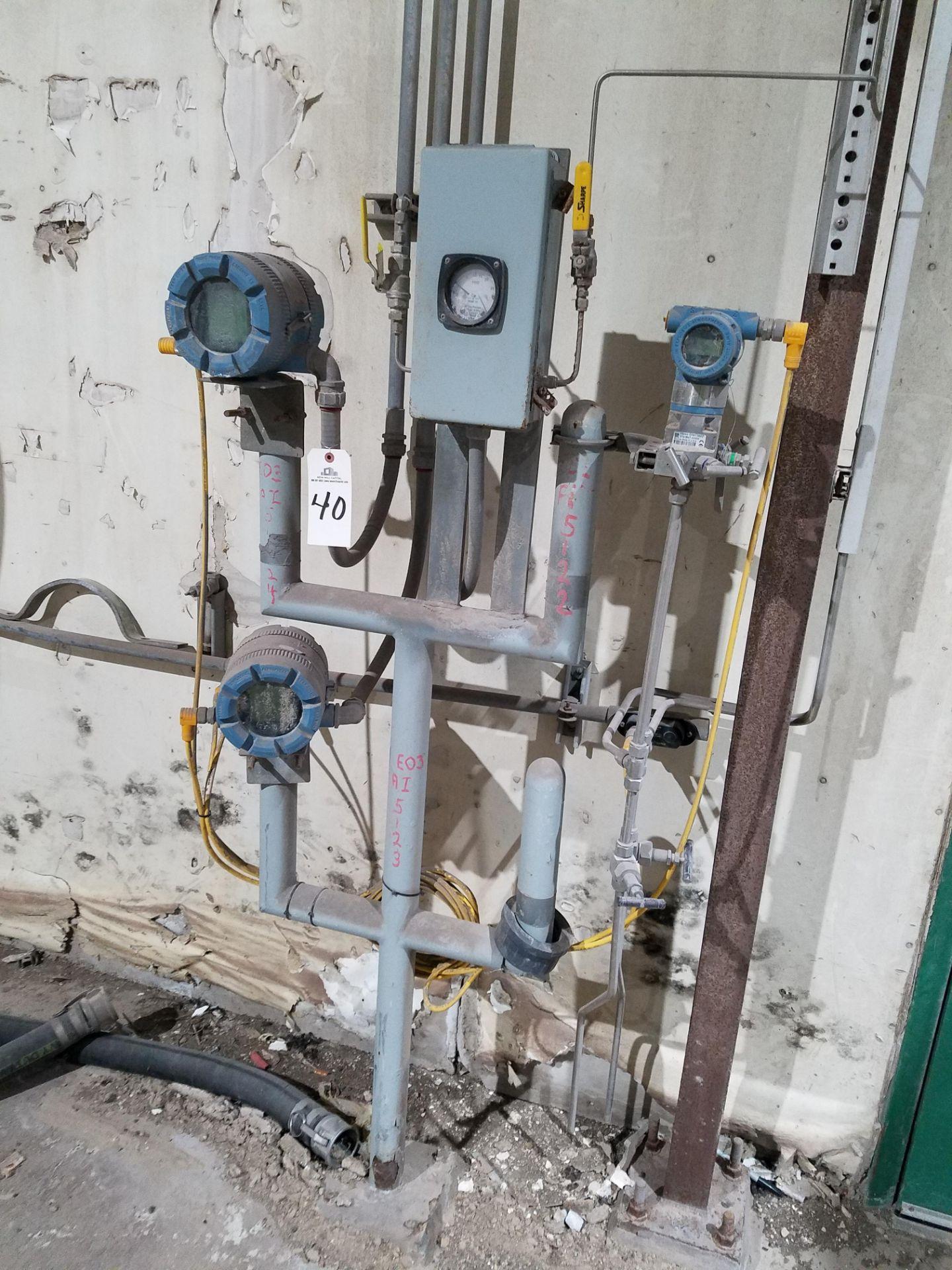 Lot 40 - Lot of Rosemount Pressure Transmitters   Rig Fee: $100