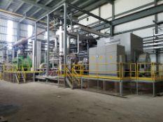 2008 Biomass CoGen Featuring 34 MW Steam Turbine Generator, Shredders, Electrics, Pumps, Motors, Water Treatment, Compressed Air, Blowers & More