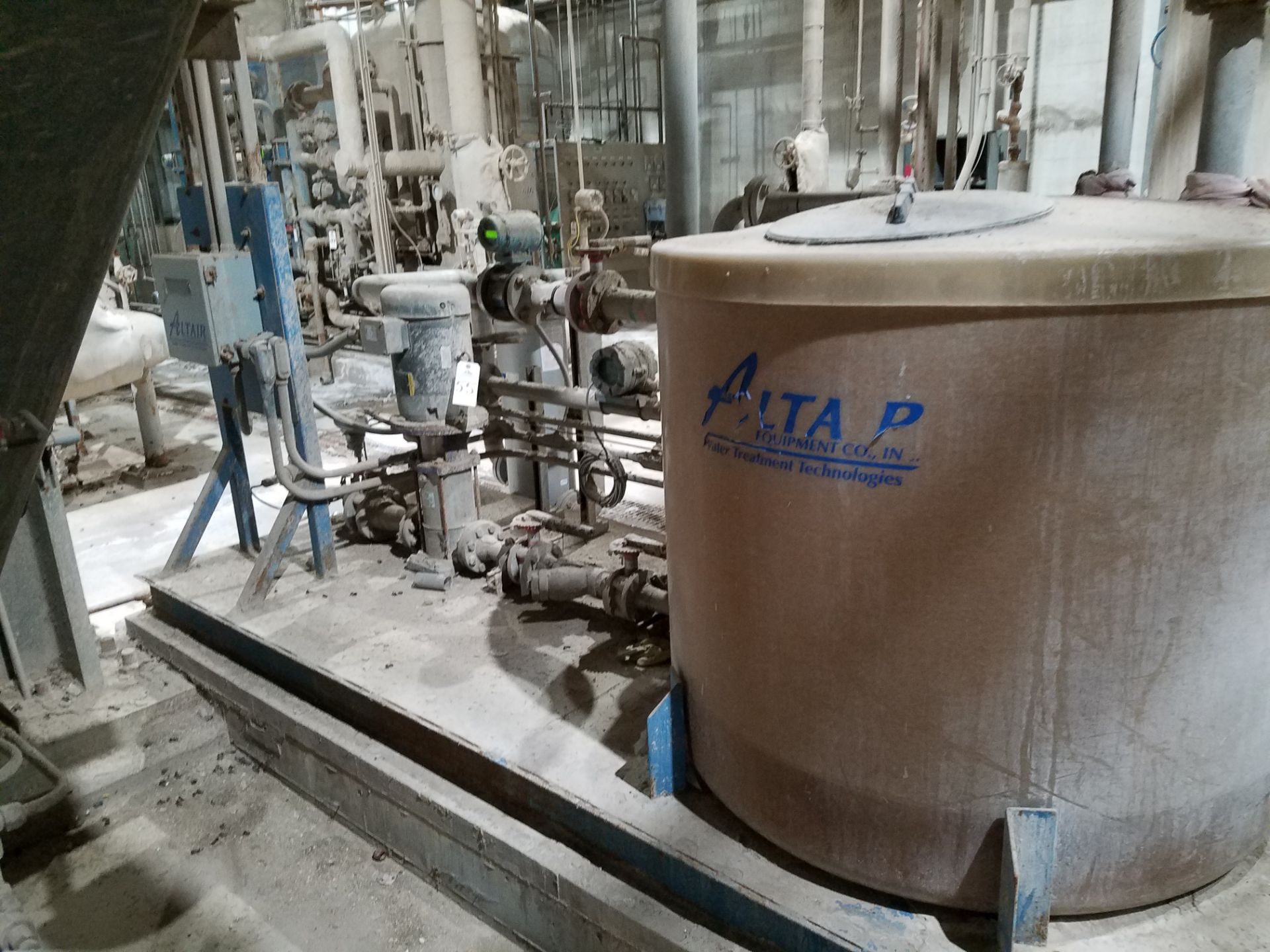 Lot 55 - Altair Equipment Co Water Treatment System | Rig Fee: $1200