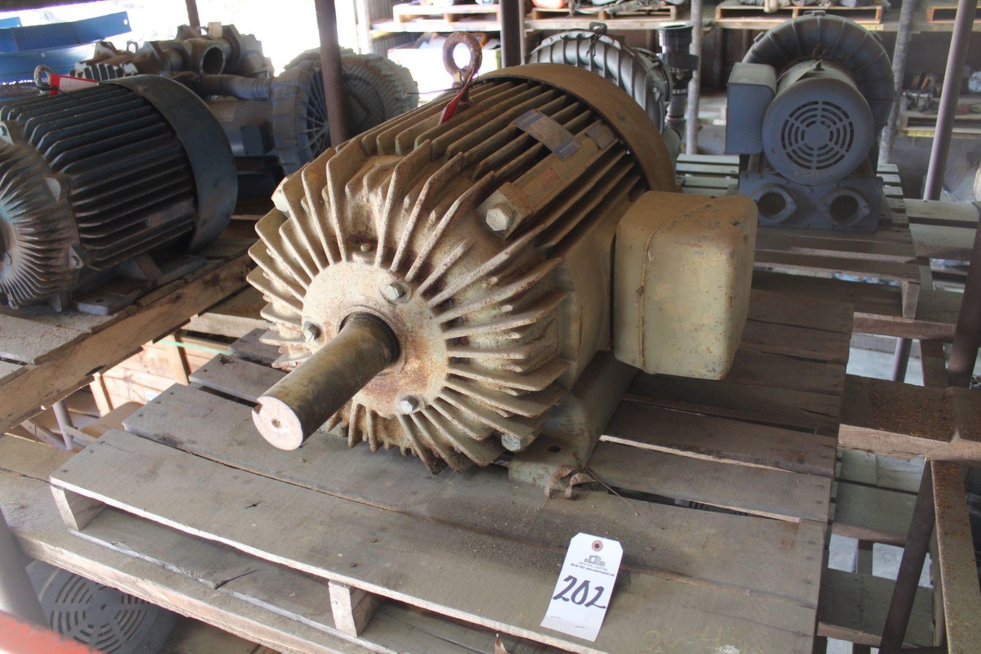Lotto 202 - Louis-Allis Motor 50 hp 1800 rpm 405T 230/460V TEFC | Load Fee: $5