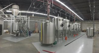 Three Spirits Brewery: Beautiful All 2015 DME Microbrewery: 10 BBL Brewhouse, 20 BBL HLT, CLT, 10 & 20 BBL Fermenters and Brites, Keg Line, More