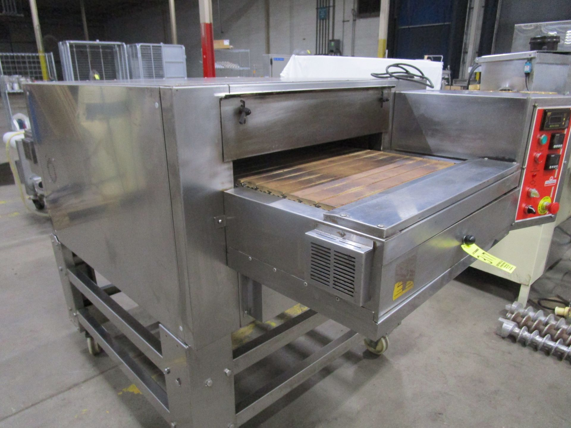 "Lot 317 - (1) 2014 Italforni Pesaro Model TSBN-GAS Pizza Oven, s/n 37033, 24"" Belt 
