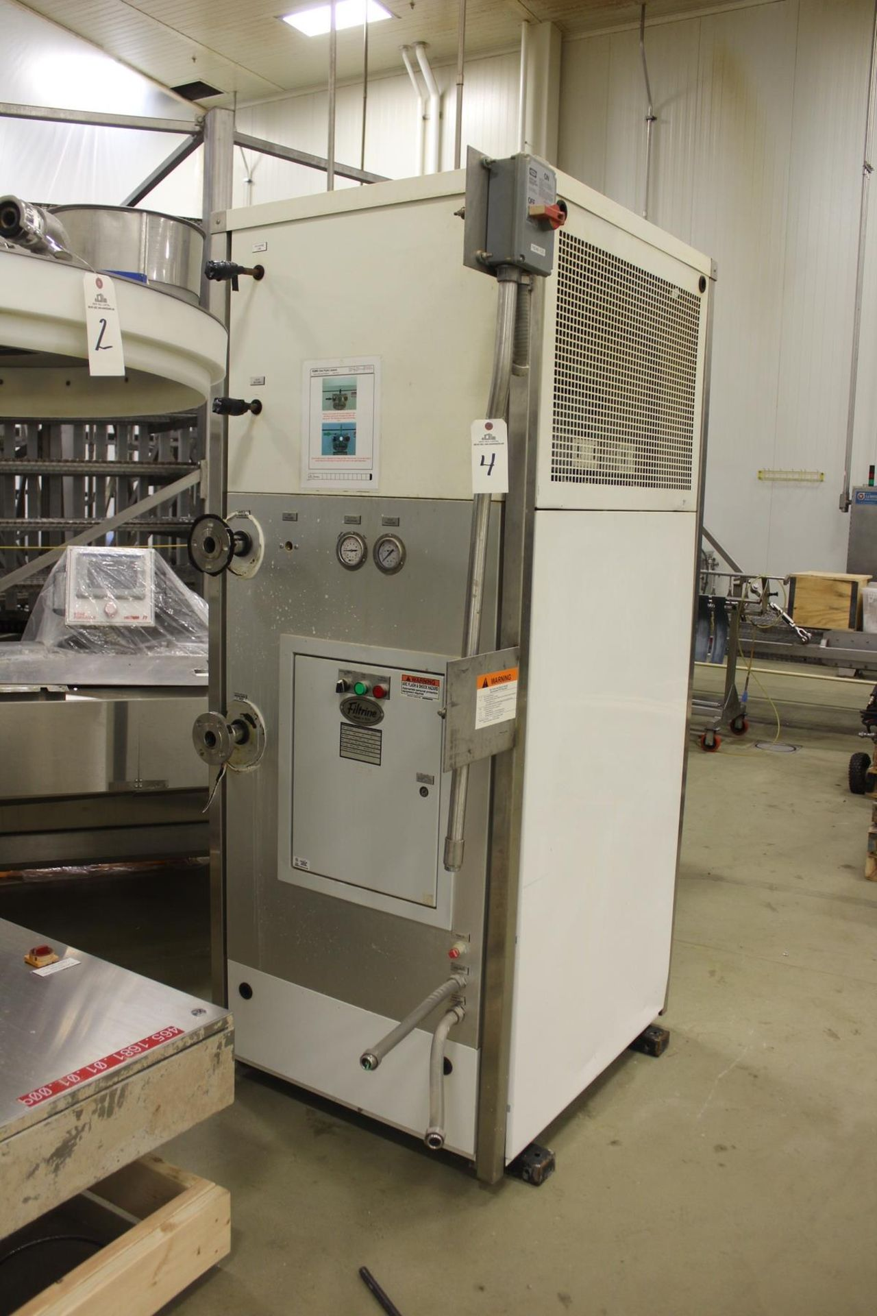 Lot 4 - 2014 Filtrine Water Chiller, M# PB-300AR, S/N 0982/14, W/ Condenser Unit | Rig Fee: $1750