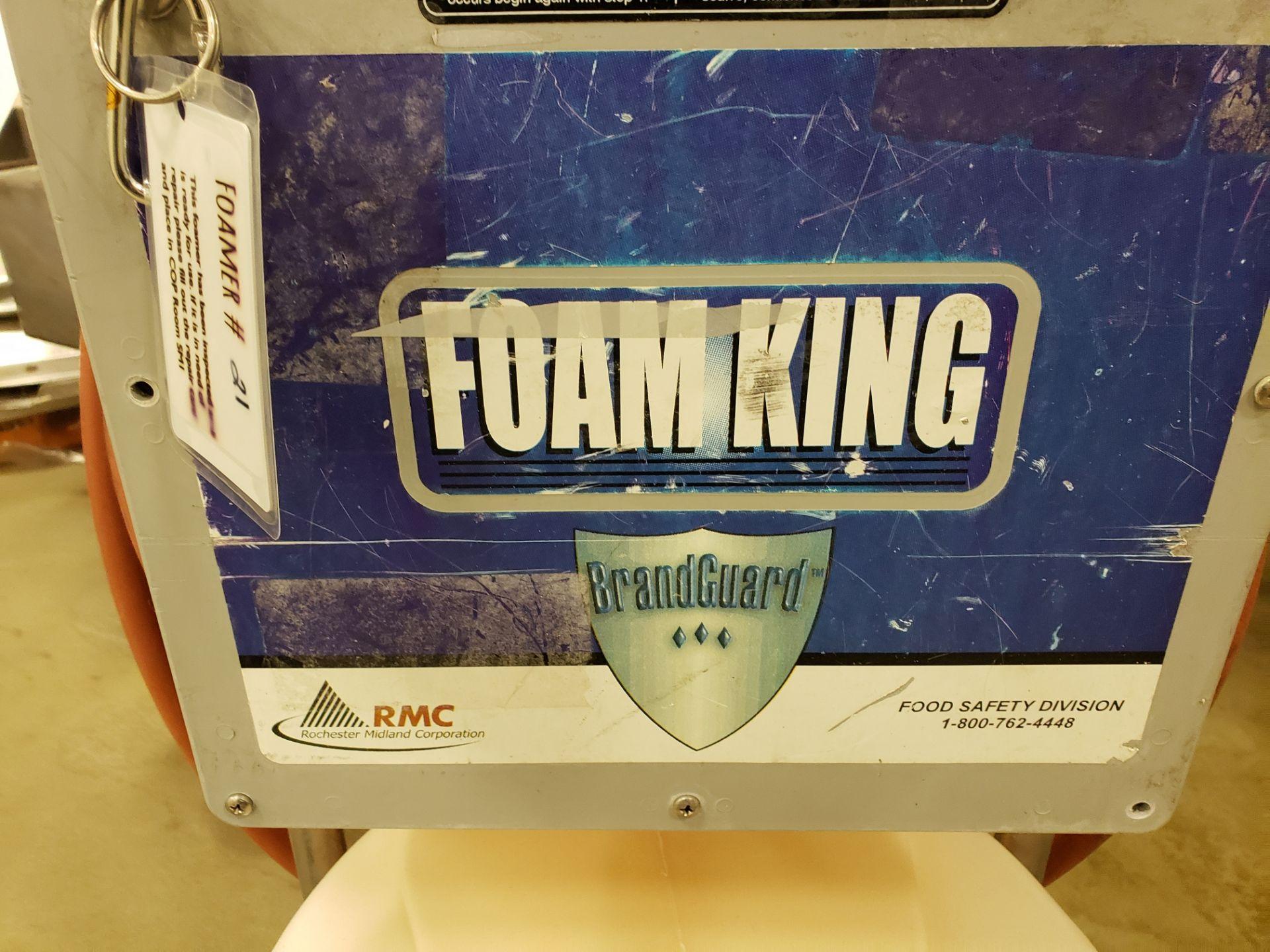 Lot 15 - RMC Foam King Foamer | Rig Fee: $25