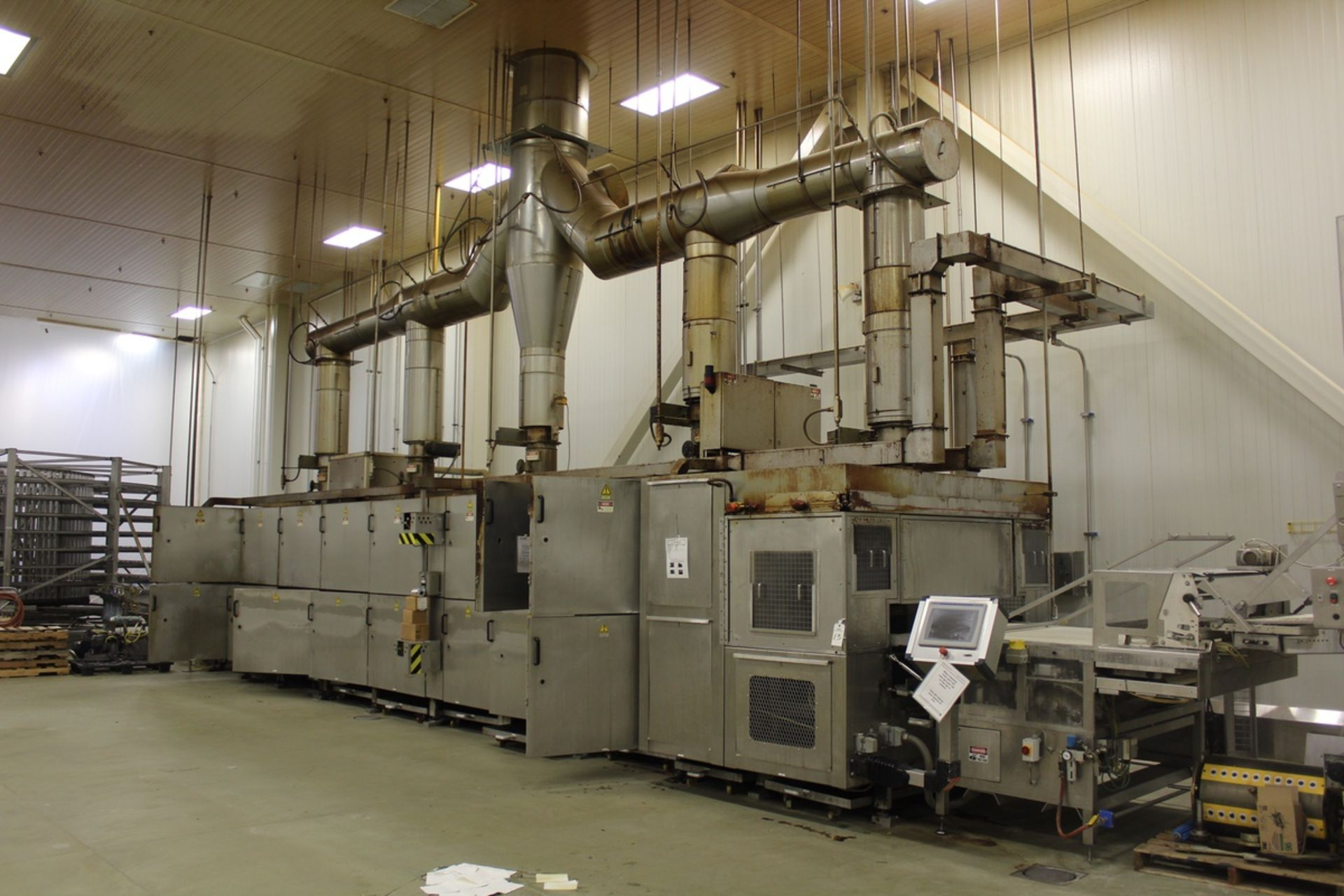 Lot 13 - 2009 Franz Haas Plate Type Continuous Waffle Griddle Type Oven, M# PZO 161-S, S/N | Rig Fee: $11200