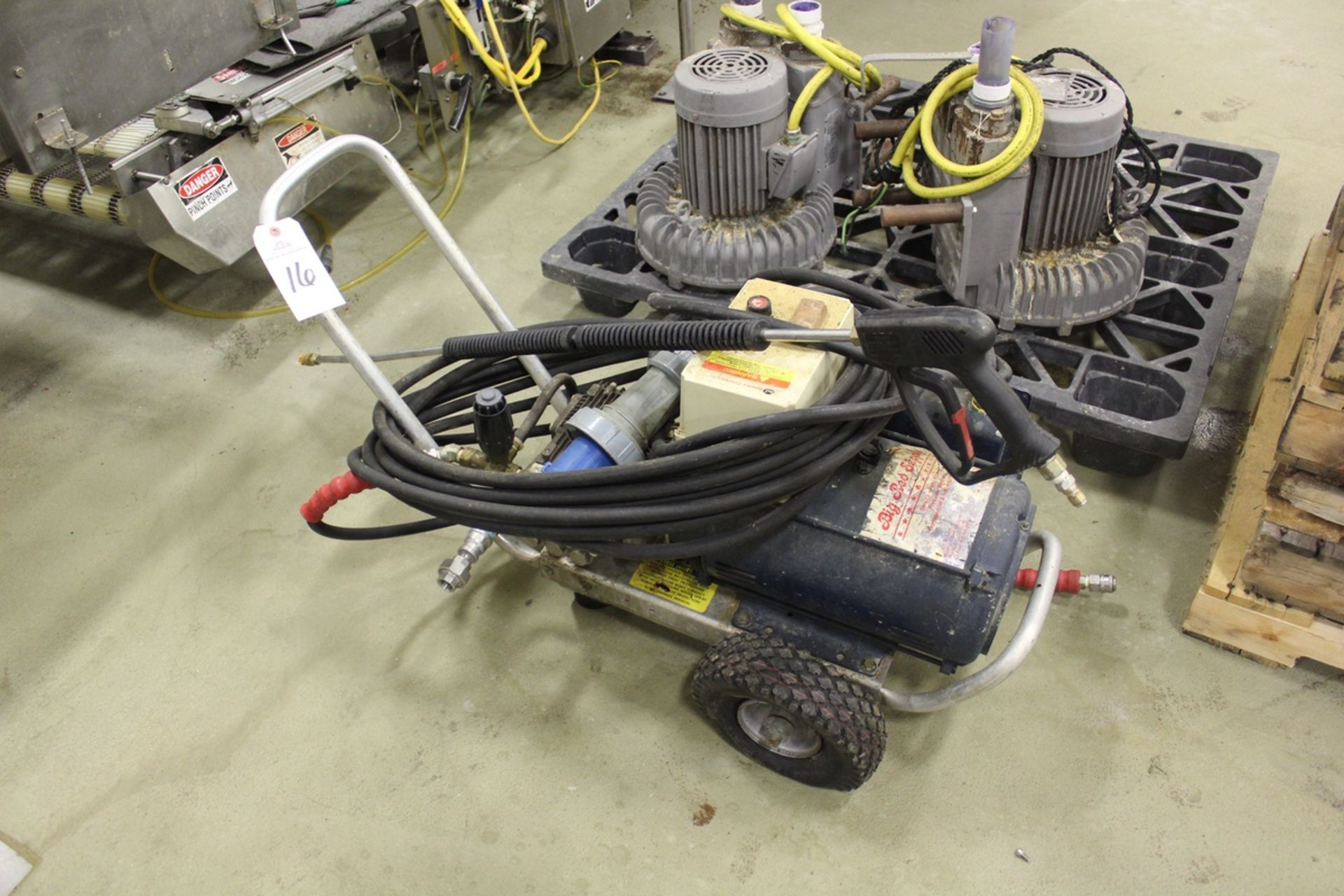 Lot 16 - Pressure Pro E-Series Pressure Washer Cart | Rig Fee: $25