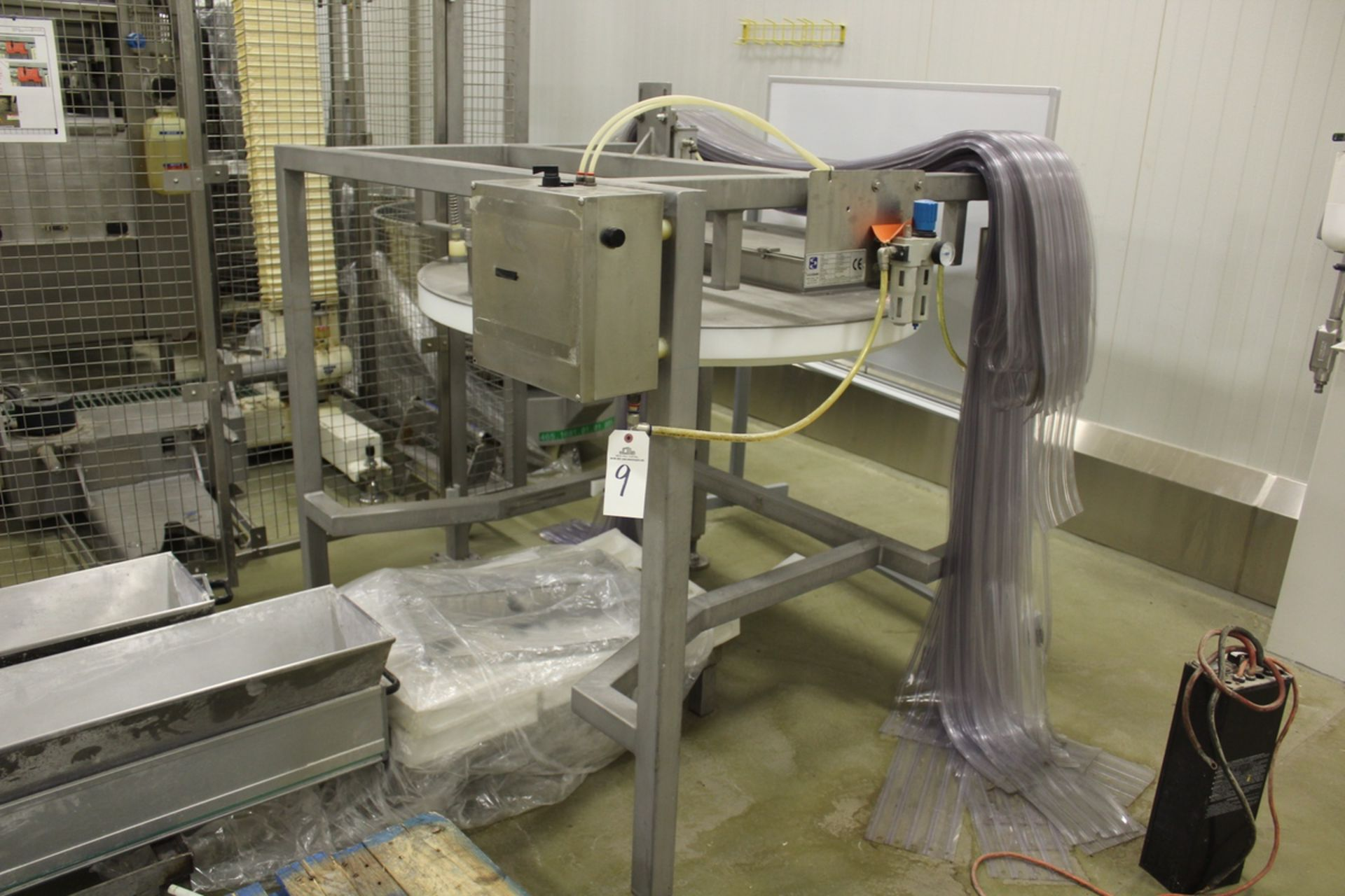 """Lot 9 - 2009 San Cassiano Mixing Bowl """"Duster"""" Ingredient Loading Stand, M# S.D., S/N 15009 