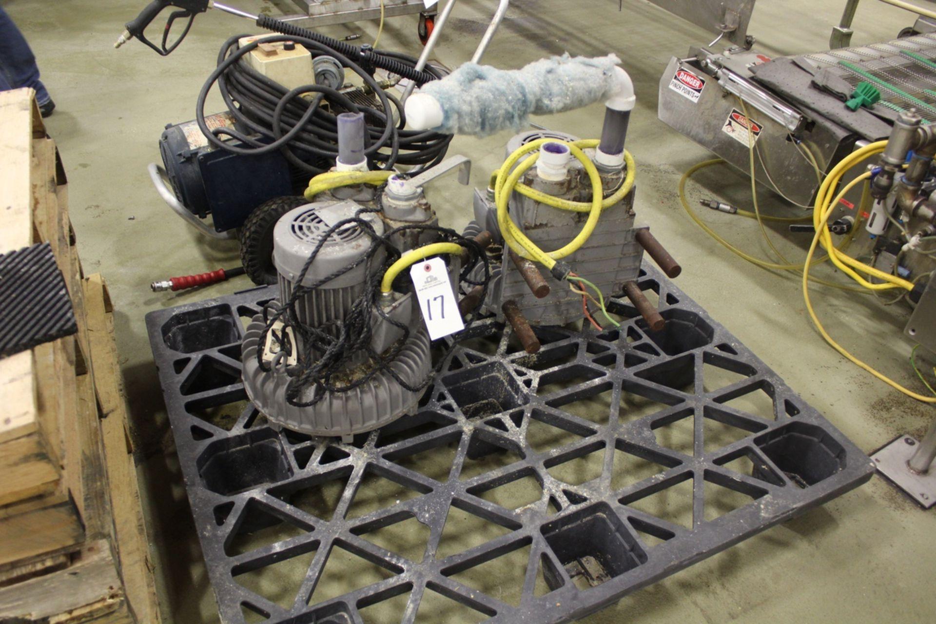 Lot 17 - Lot of (2) Fuji Electric Ring Compressors | Rig Fee: $25