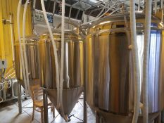 2015 7BBL Microbrewery: Assets of 38 State Brewing Co Featuring Stout Tanks and Kettles Brewhouse Package and Tanks, 80BBL Tanks Added + Support
