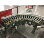 Lot 1P - 2013 Hytrol 90Deg Roller Conveyor, 12in Rollers | Insp by Appt | Rig Fee: 50