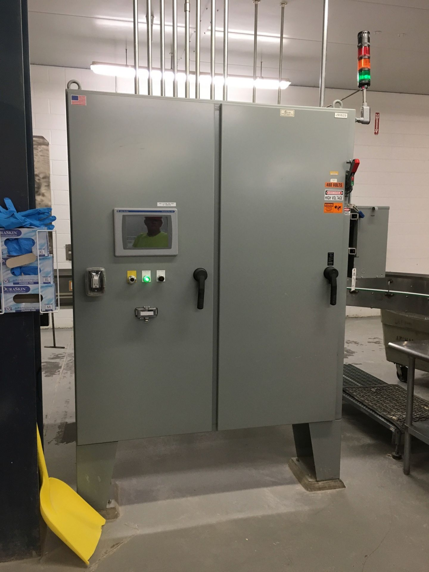 Lot 1Y - 2013 Conveyor Control Panel, VFDs, Allen Bradley PanelView Plus 1000 | Insp by Appt | Rig Fee: 350