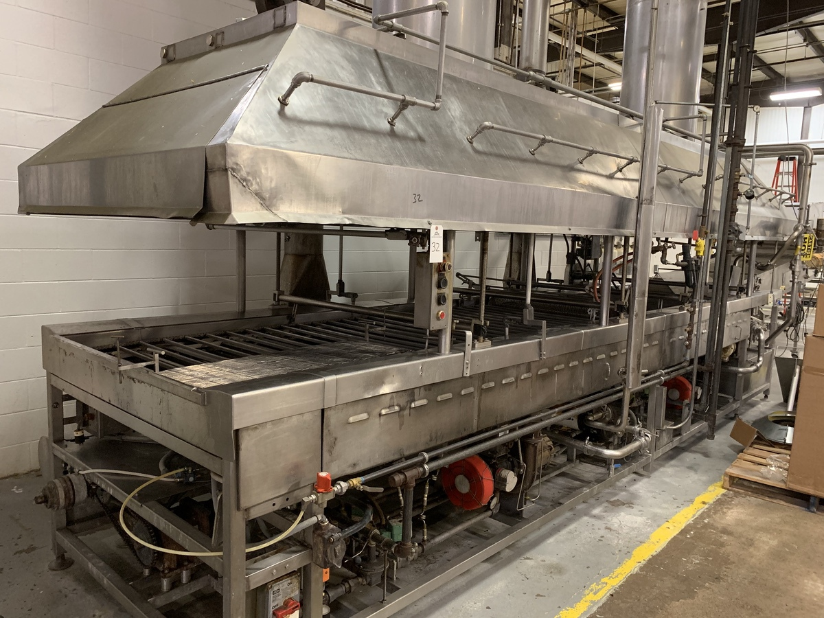 60,000 SqFt Fresh and Frozen Donut Production and Packaging Plant - Moline Donut Lines, Roller Bar Mixers, Nitrogen Tunnels, Bag In Box, Tanks