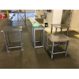 Lot 171 - (4) Stainless Steel Tables | Rig Fee: $25