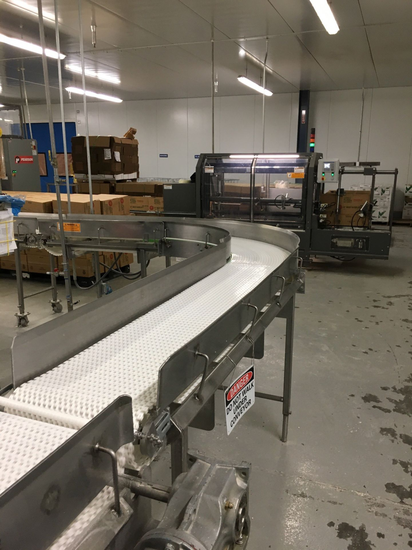 Lot 1K - 2013 Intralox Conveyors, Approx 80 ft Overall Length, 15.5in W Belt, ( | Insp by Appt | Rig Fee: 750
