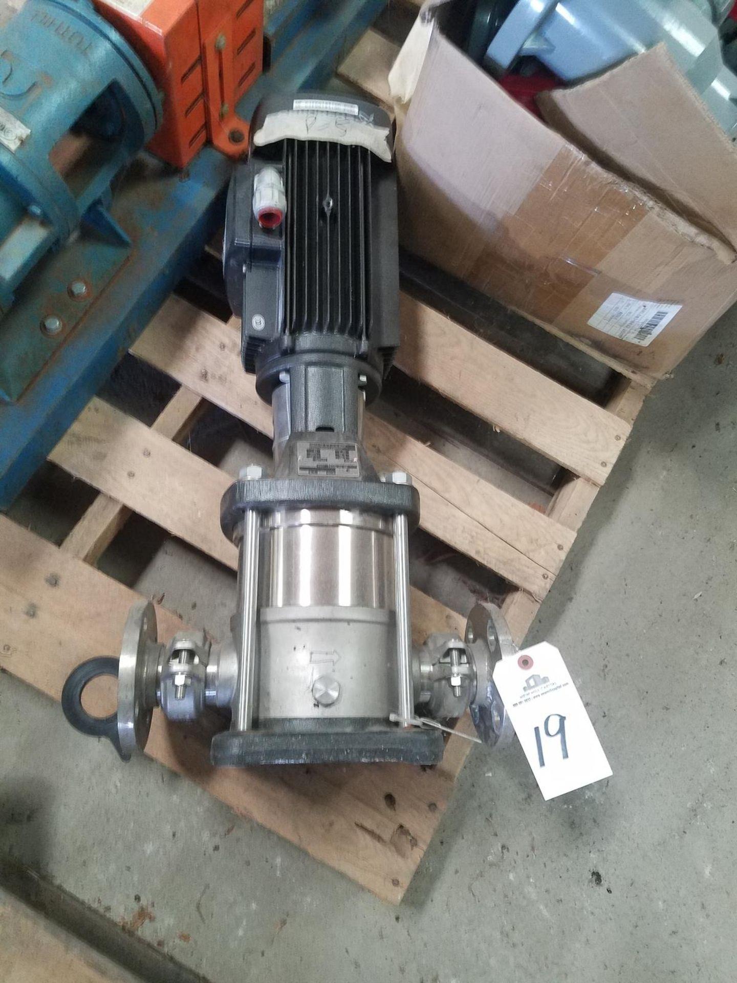 Grundfos Pump, M# CRN10-03 A-P-G-E-HOOE   Rig Fee: $50
