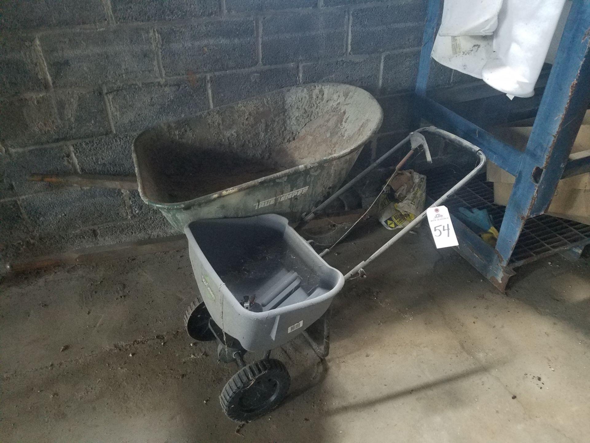Wheel Barrow & Seeder   Rig Fee: $25