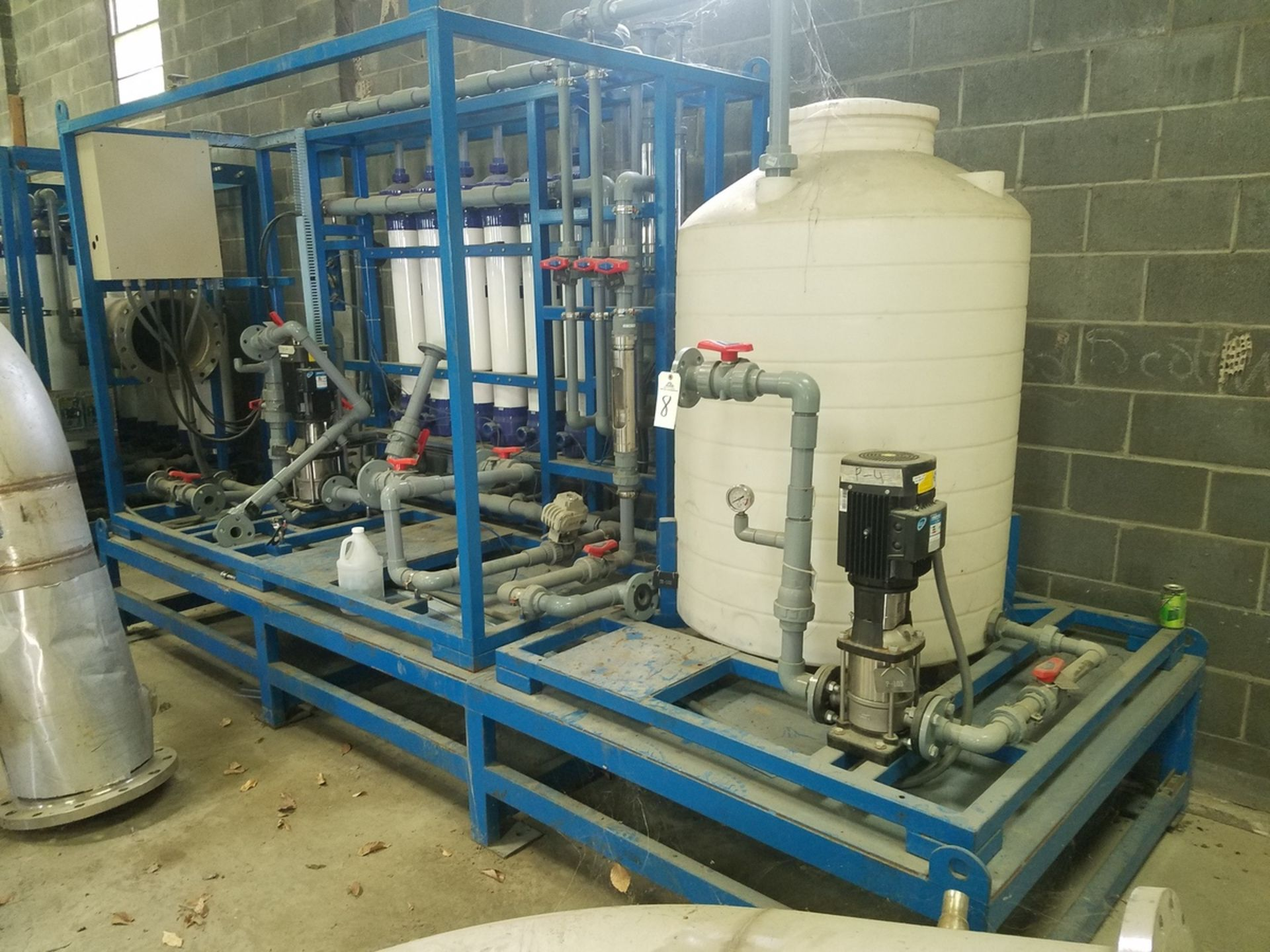 Petro Sep UF Membrane Filtration Skid System, Includes (2) SS Cartridge Filters, | Rig Fee: $1200