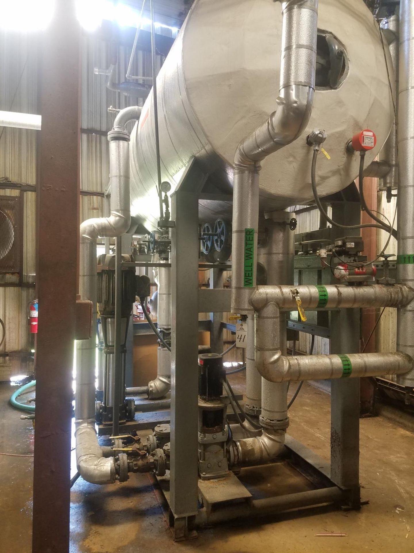 Boiler De-Aerator Skid   Rig Fee: $5000